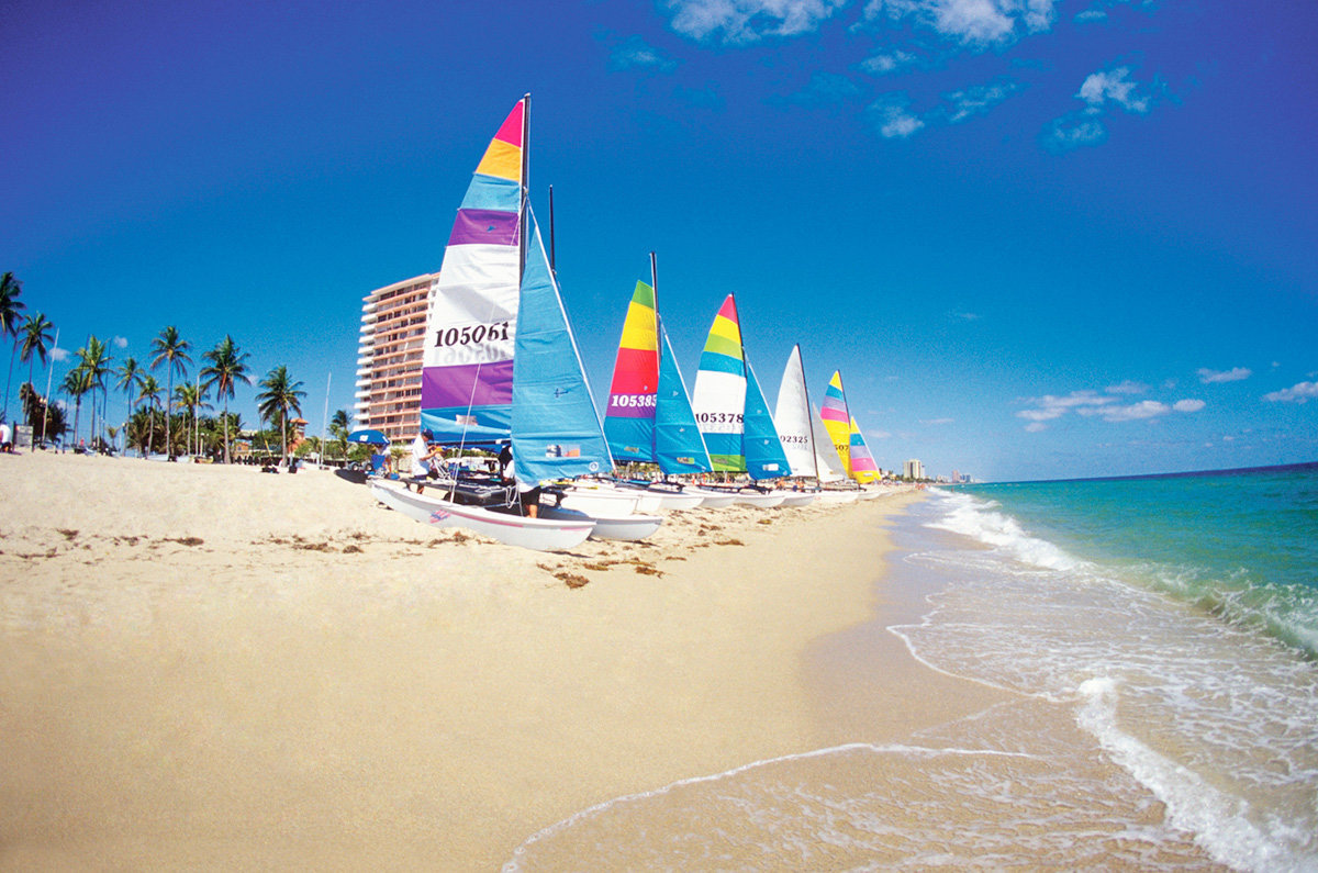 A ensolarada Fort Lauderdale, na Flórida (foto: Thinkstock)