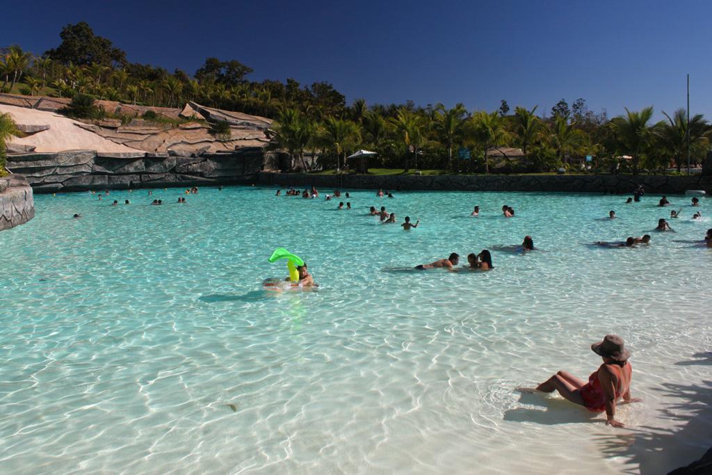 Praia do Cerrado no Hot Park do Rio Quente Resort