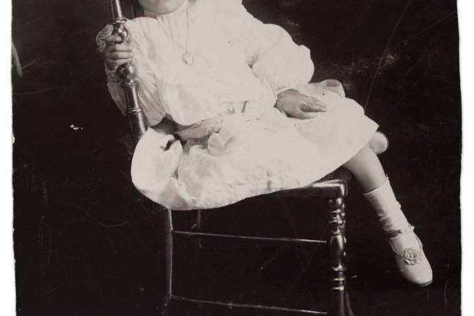 Frida com 5 anos, em 1912 / Museu Frida Kahlo