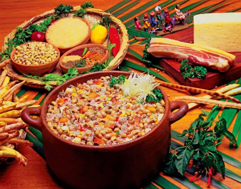 Baião de dois, comida típica do Ceará