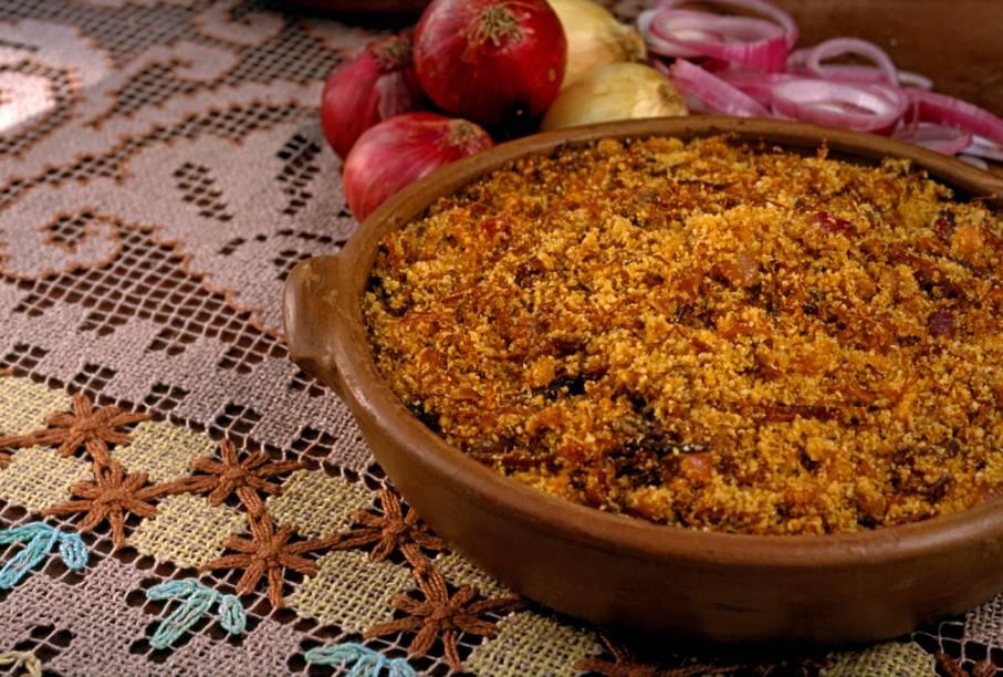 Paçoca, prato típico do Ceará
