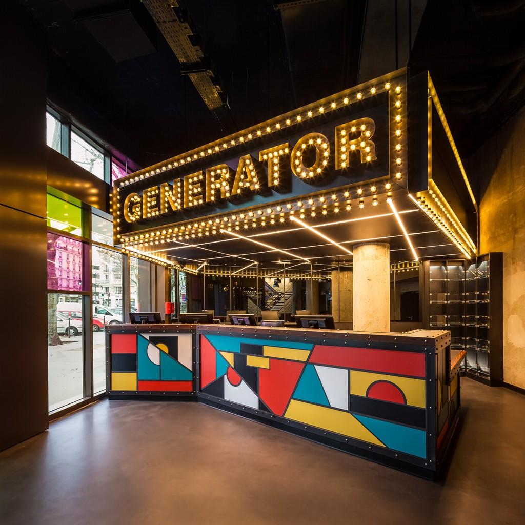 A recepção super cool do novo Generator (Imagem: divulgação)