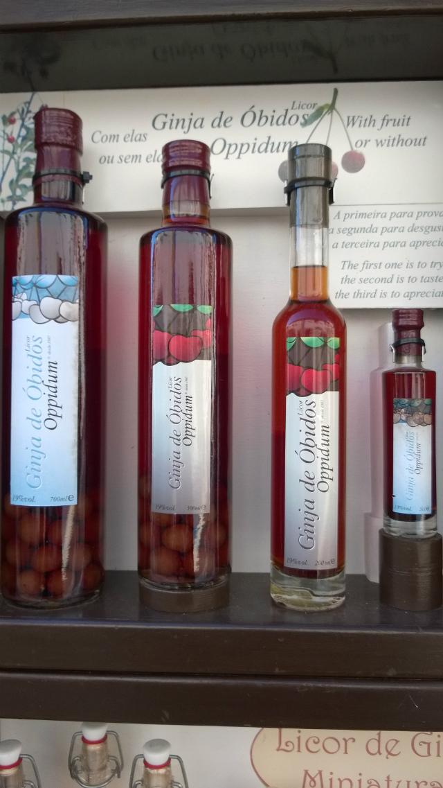 Ginjinha de Óbidos: você precisa experimentar (foto: Renata Hirota)