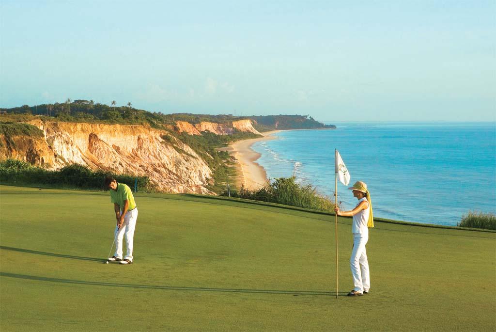 Golfe no Club Med, em Trancoso