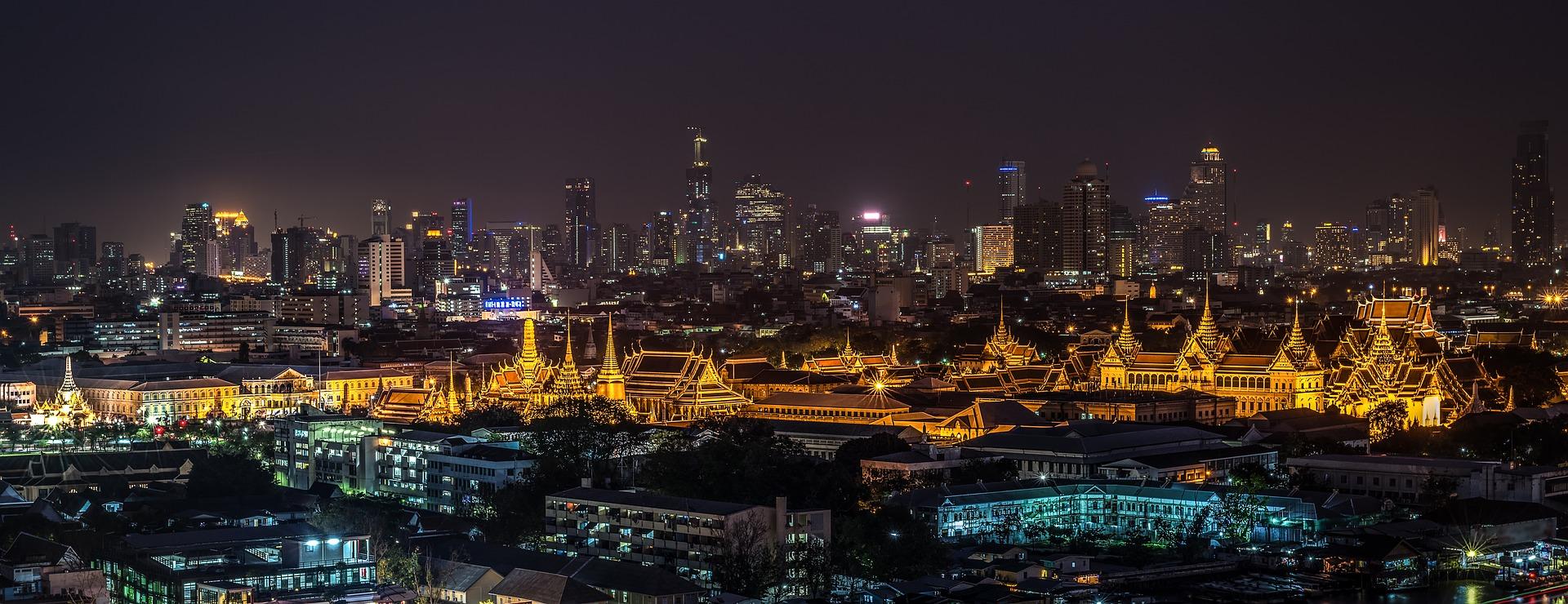 Mar de luzes e de roubadas na linda Bangkok, na Tailândia