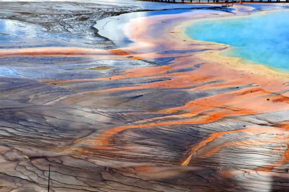 Grand Prismatic Spring, Parque Nacional de Yellowstone