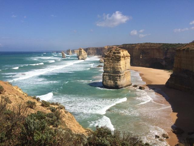 Great Ocean Road, entre Melbourne e Adelaide