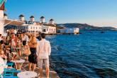 Fim de tarde em Mikonos, Grécia