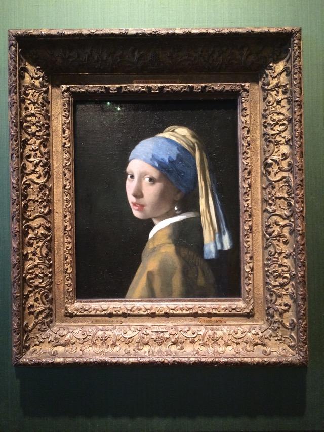 A Moça com Brinco de Pérola, uma das obras-primas do museu