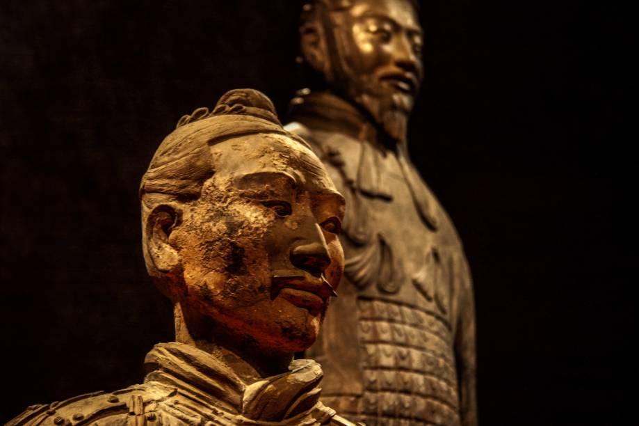 Guerreiros de Terracota, em Xian