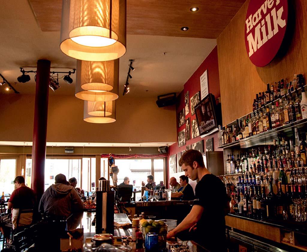 O bar Harvey's, em SanFran