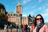 EU FUI: Hotel Fairmont Le Château, no Québec