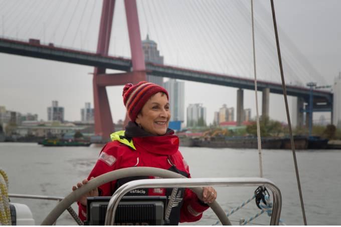 Heloísa Schurmann na China