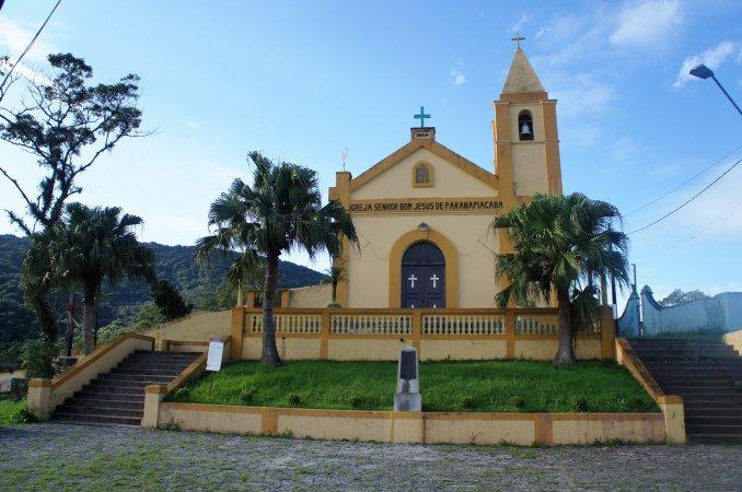 A Igreja Bom Jesus de Paranapiacaba é de 1889 / Divulgação