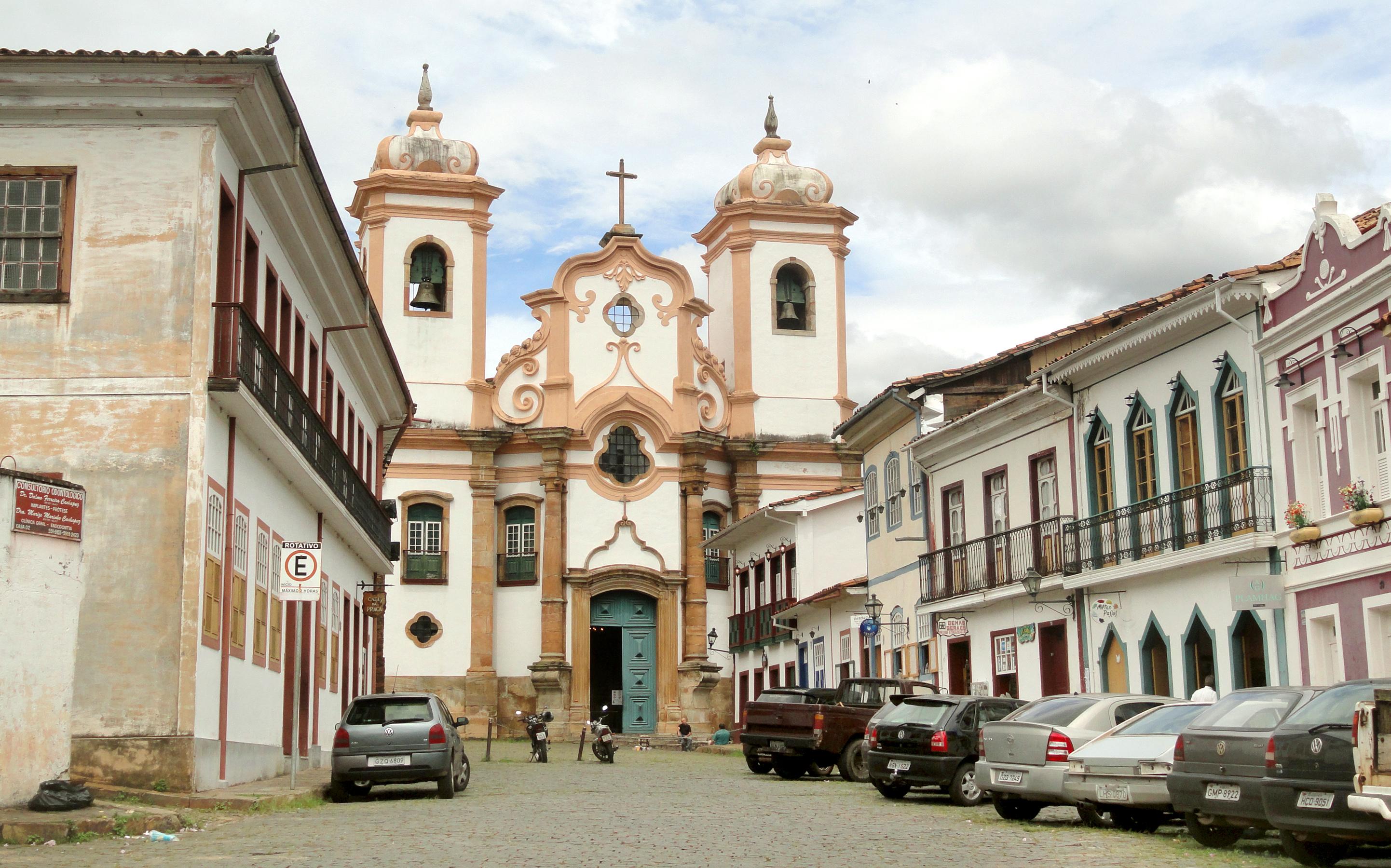 Igreja Matriz de Nossa Senhora do Pilar, em Ouro Preto (MG)