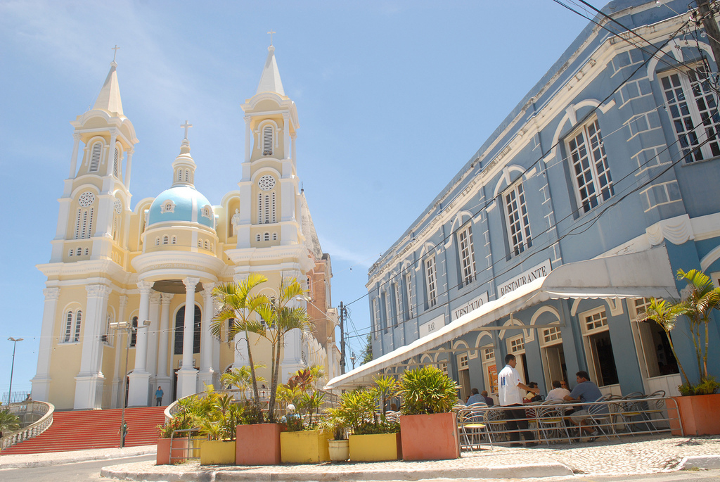 Catedral de São Sebastião e bar Vesúvio, Ilhéus, Bahia