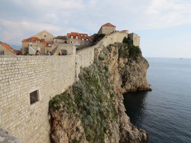 Vistas da muralha poderosa