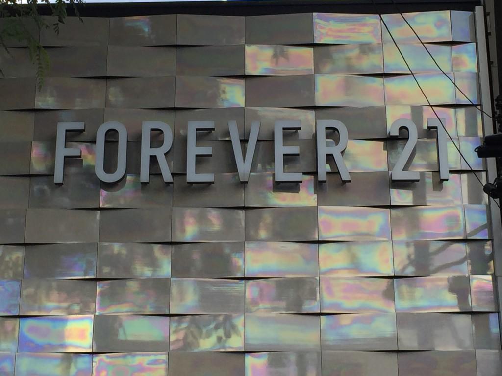 Loja da Forever 21 na Haddock Lobo (foto: Família Nômade)