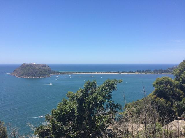 Vista para Pal Beach aliii do outro lado