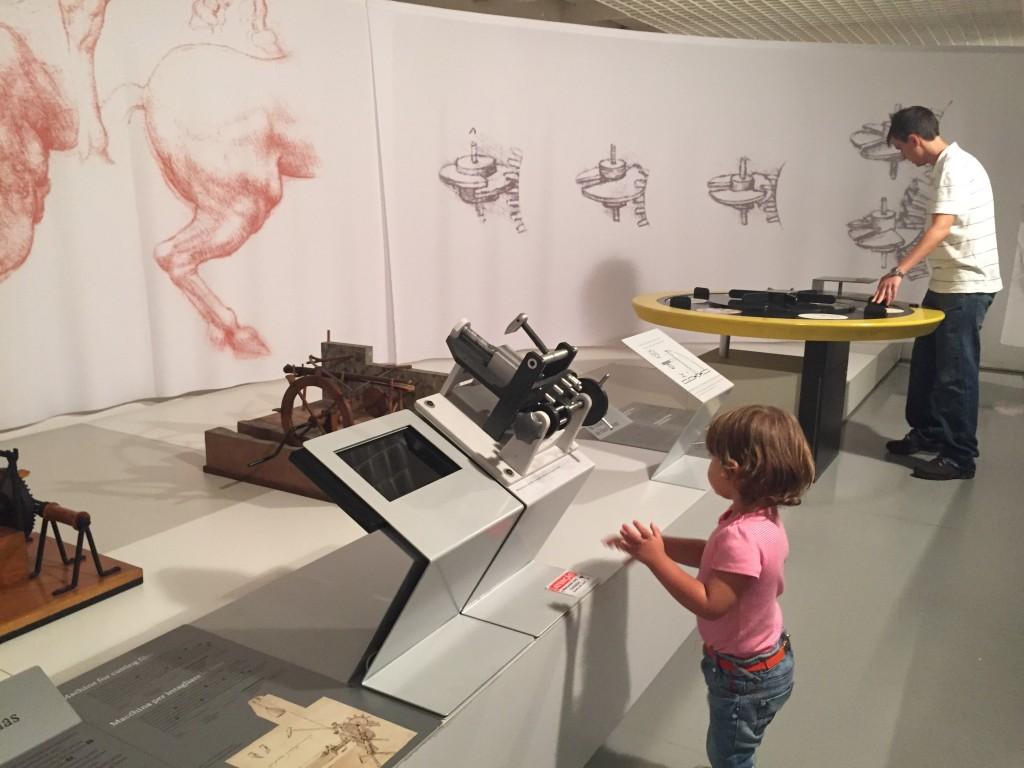 Exposição sobre Leonardo da Vinci em SP (foto: Família Nômade)