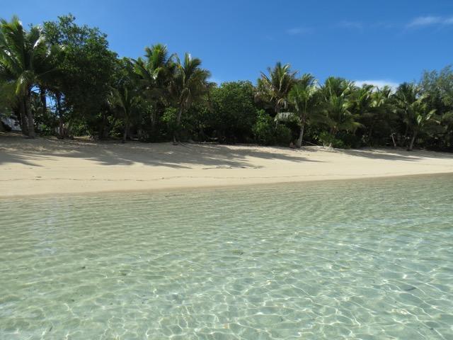 Uma praia simplesmente não pode ser mais perfeita do que isso (Na foto: Barefoot Island Resort)