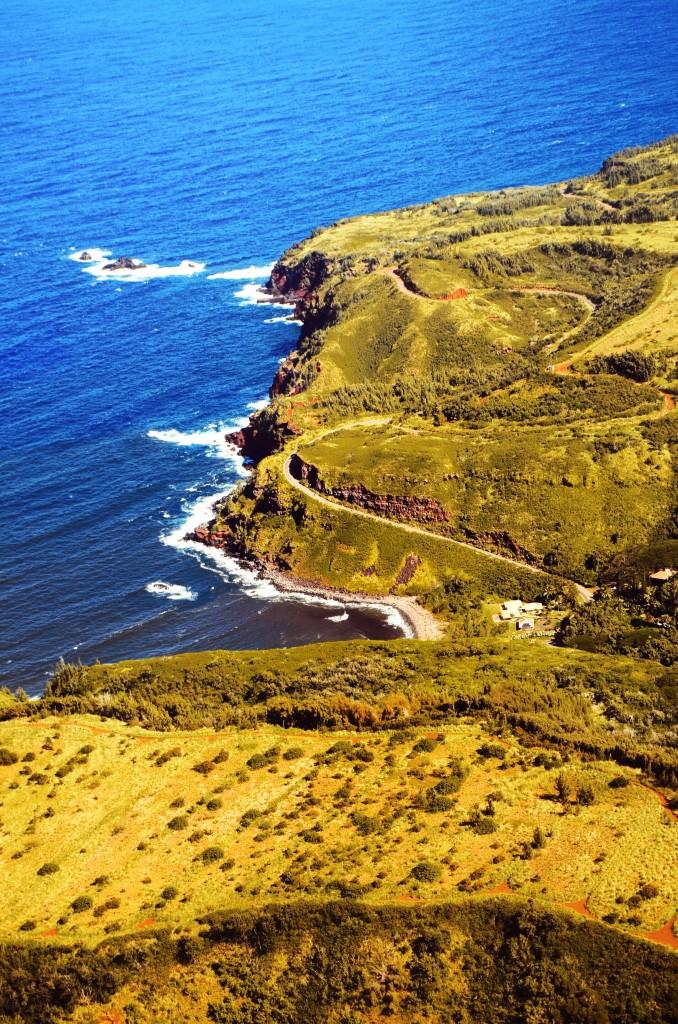 Windmills Bay, em West Maui, já no fim do passeio (foto: Anna Laura Wolff)