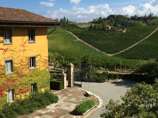Relais Villa Sparina, um dos hotéis de charme do Piemonte, em Monterotondo