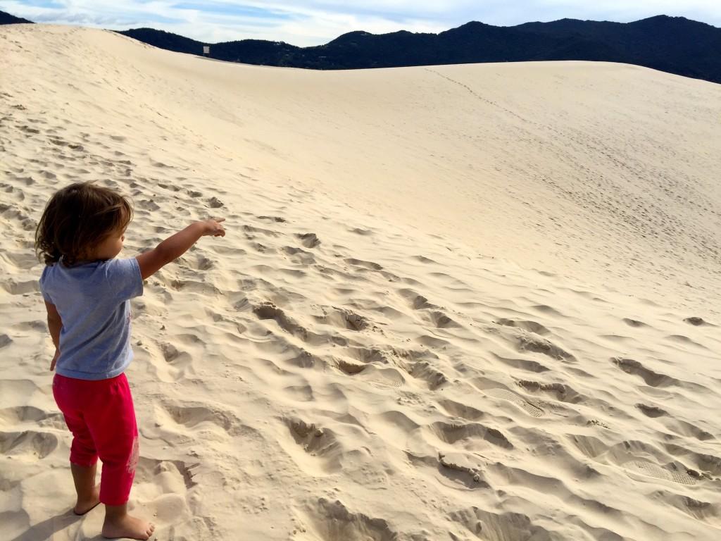 """Um """"mar de areia"""" para descer correndo, rolando ou de prancha!! Foto: Família Nômade"""