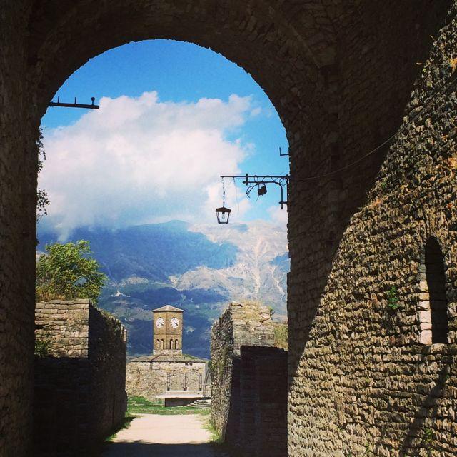 Outro ângulo do Castelo de Girokastra