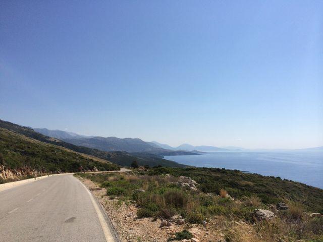O jeitão da Riviera Albanesa