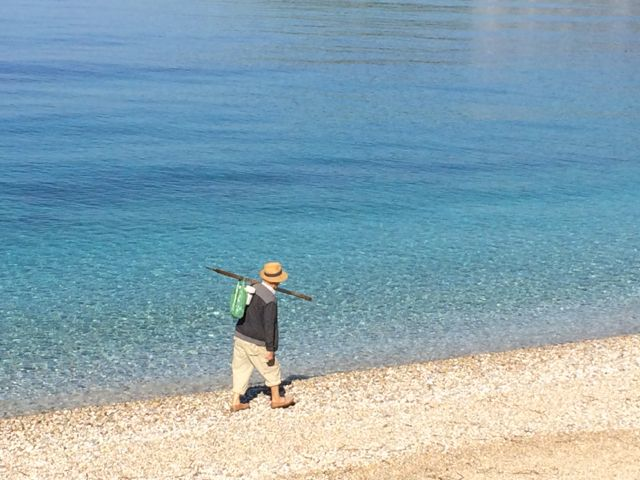 Pescador em Himarë