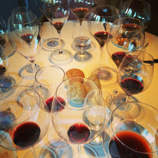 Resultado da harmonização com quinze vinhos...