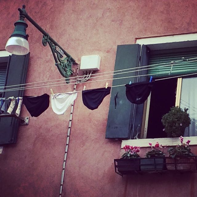 Um pouco de vida real em Veneza