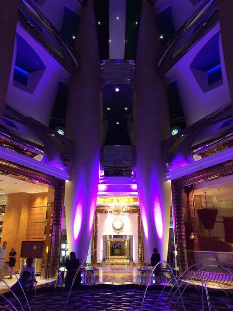 Um dos ângulos mais basiquinhos do lobby