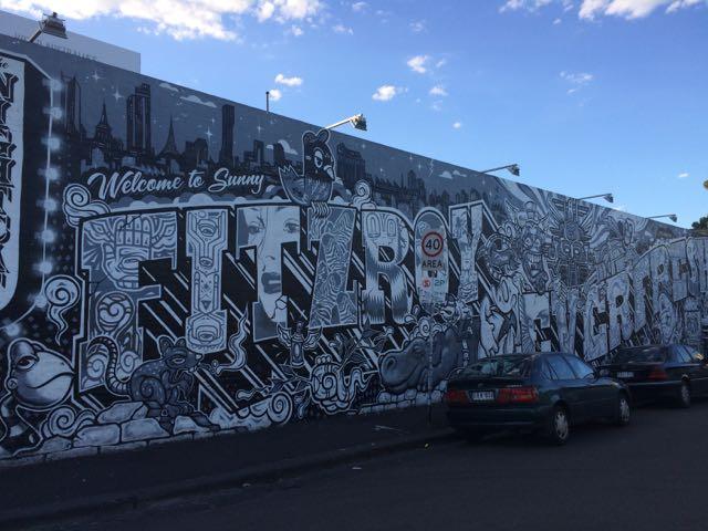 Fitroy, onde Melbourne é mais Berlim