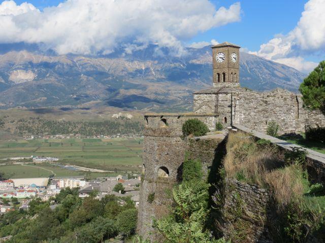 O castelo de Girokastra