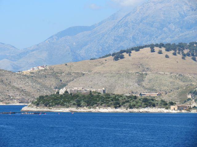 Paisagem da Riviera Albanesa