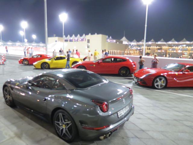 Só carro econômico no Viceroy, o hotel da Fórmula 1 em Abu Dhabi