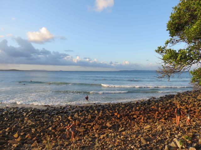 O cantão da surfistada no verão: ondas loooongas, ótimas para SUP