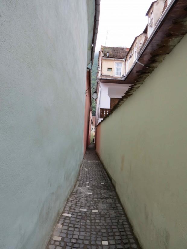 A rua mais estreita da Europa
