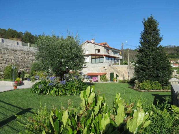 O escondidinho hotel Liñares, entre Pontevedra e Combarro, num vilarejo chamado Poio