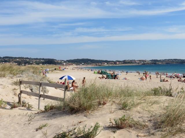 O auge do verão na região das Rias Baixas, na Galícia