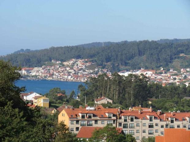Vista da Ria de Pontevedra da janela do meu quarto