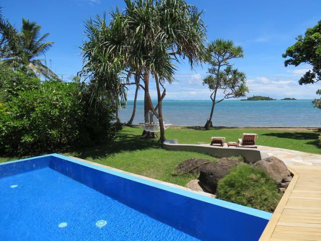 A nababesca piscina privada da villa