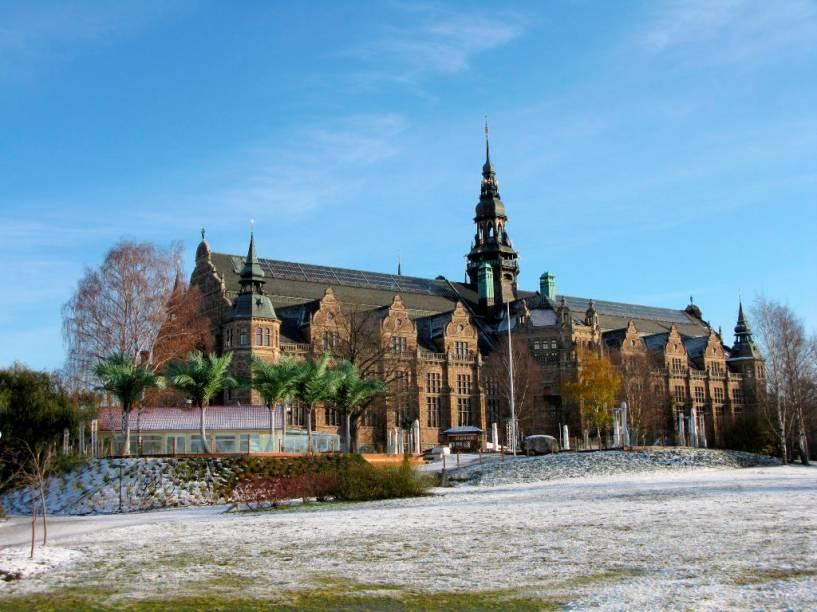 Fundado no século 19 por Arthur Hazelius, o Museu Nórdico de Estocolmo foi criado para preservar a memória da cultura popular sueca