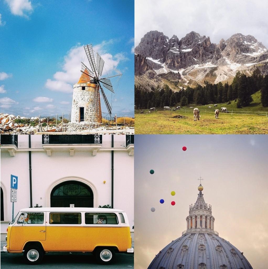 Todo canto da Itália refletido em cliques ao estilo soft e clean. As imagens vêm com a perguntinha 'What's Italy' seguida da reflexão do fotógrafo da imagem. Gosto principalmente da edição das fotos, que não peca. As fotos repostadas captam a vibe do país segundo os italianos