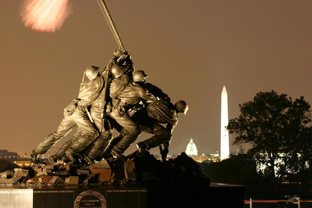 Monumento a Iwojima, Washington DC, Estados Unidos