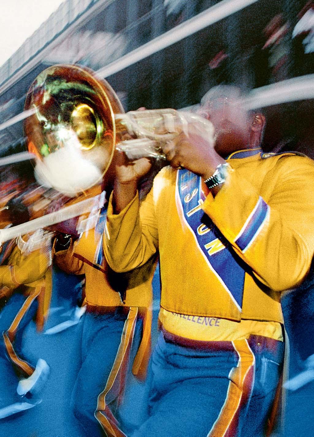 Jazz parade, em Nova Orleans