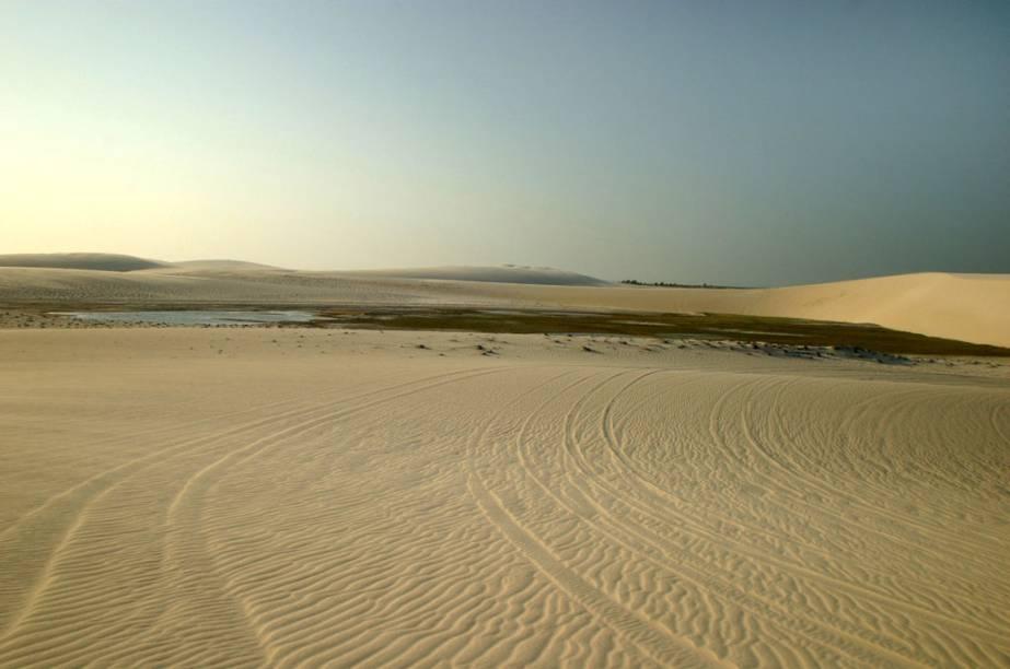 Vista das dunas da Praia de Preá