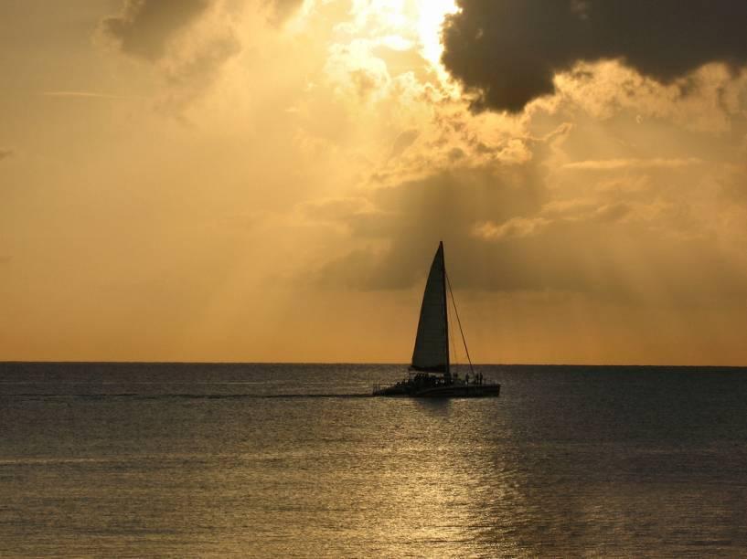 Montego Bay, no norte da Jamaica, é um dos destinos de verão favoritos do Caribe